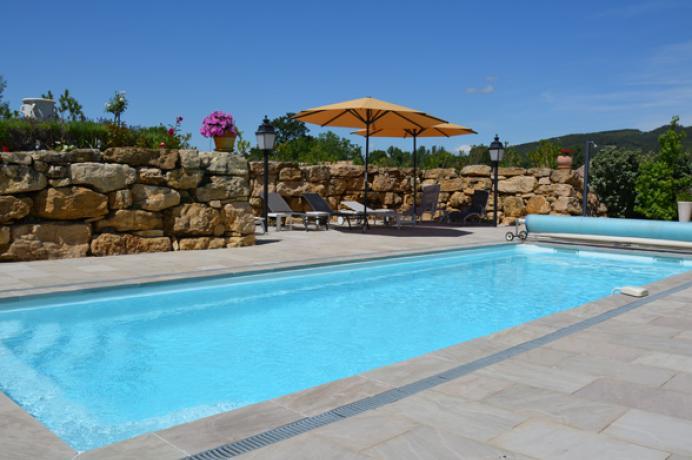 location maison de vacances pour 8 personnes avec clime et piscine chauffée, région Vaison-la-Romaine, Mont Ventoux, Vaucluse