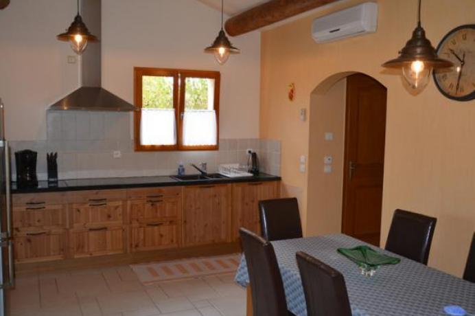 vacances en Provence, maison de luxe avec climatisation et piscine chauffée, Vaison-la-Romaine, Crestet