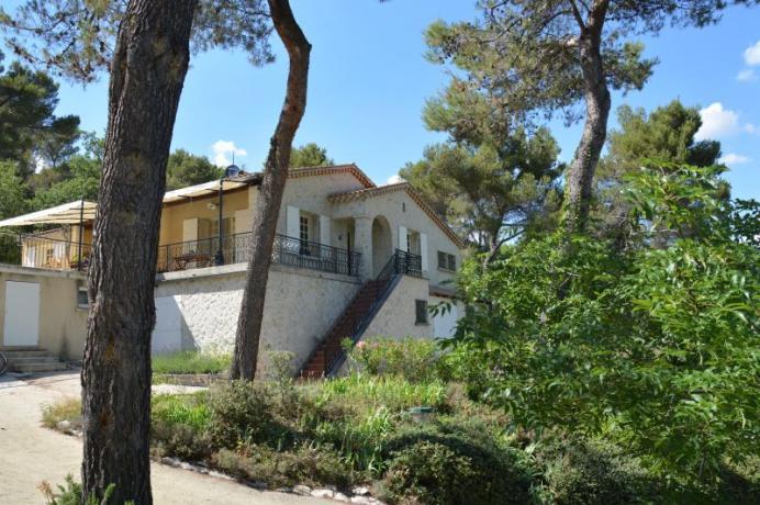 villa avec piscine chauffée à louer à Vaison-la-Romaine (Provence)