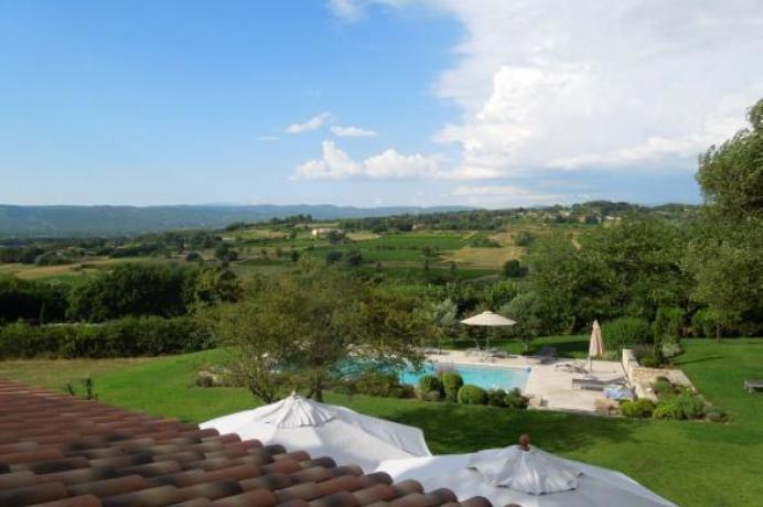 huur luxe vakantiehuis in de Luberon voor 8 personen