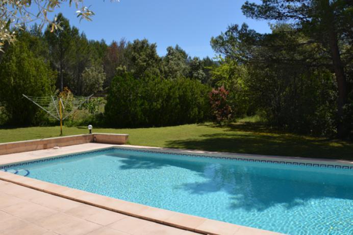 luxe villa in de Provence te huur met poolhouse en privé zwembad