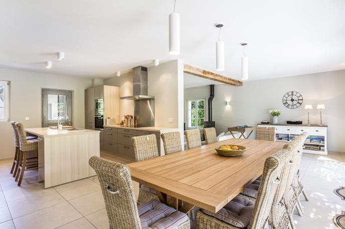 design villa te huur in Bonnieux bij Belgen
