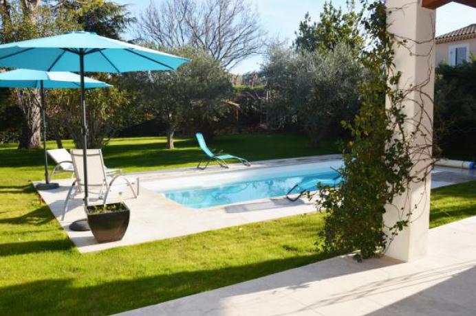vakantiewoning te huur met privé zwembad in de Provence voor 6 personen
