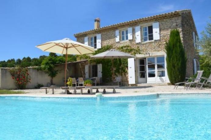 huur luxe vakantiehuis aan de Mont Ventoux, Provence voor 6 personen
