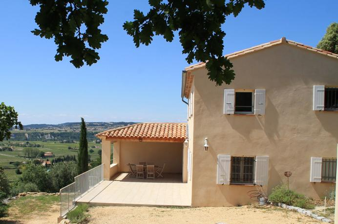 nieuwbouw villa kopen in de Provence, Zuid-Frankrijk met zwembad en grote tuin