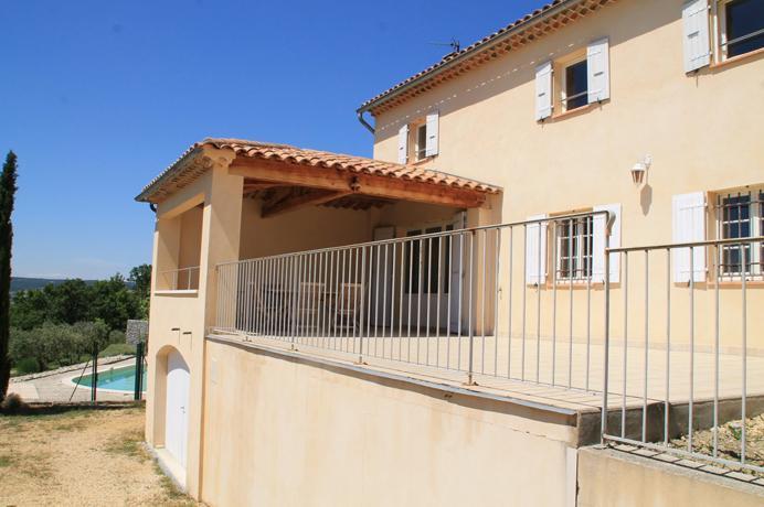 nieuwe villa kopen met prachtig zicht en zwembad in Vaison-la-Romaine, Provence