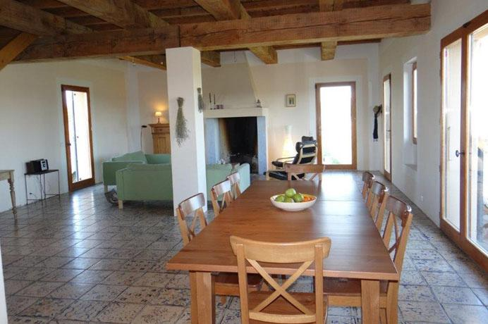 for sale ecological villa with vineyard and truffle farm and fruit trees near Mont Ventoux