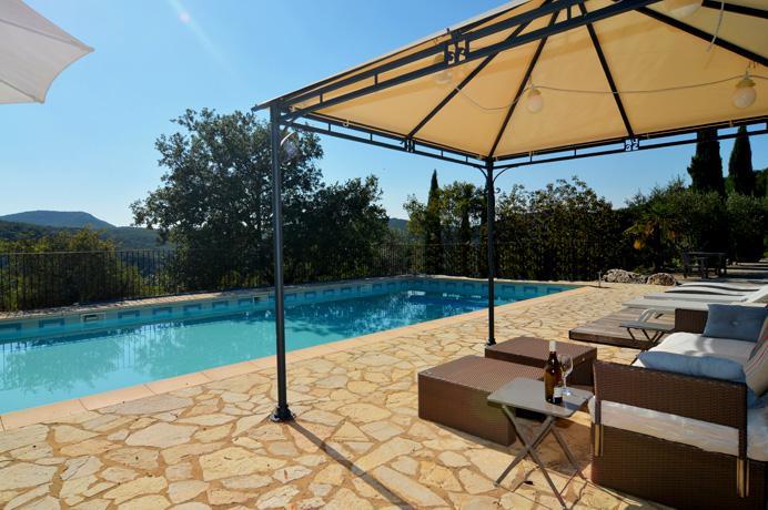 investir Provence Gard Uzès vente maison de luxe avec grand terrain