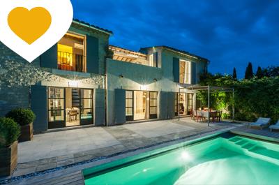 villa haut de gamme agent immobilier Vaucluse
