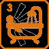 3 salles de bain/salles d'eau, dont 2 dans la bastide