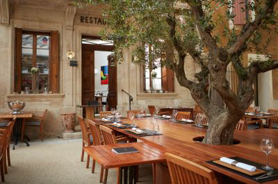 What is your favourite Provençal restaurant near Mont Ventoux and the Dentelles de Montmirail?
