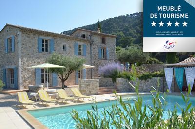 Meublé de tourisme 5 étoiles - classification Atout France