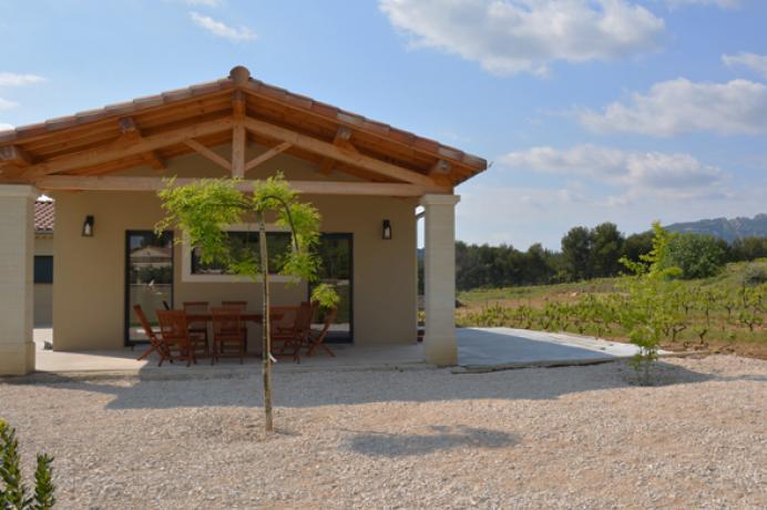 location saisonnière en Vaucluse, Provence, Beaumes-de-Venise, Gigondas Vacqueyras, maison de vacances pour 10 personnes