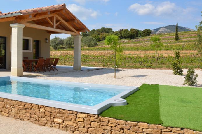 louer une maison de vacances près du Mont Ventoux, avec 4 chambres donc une chambre accessible aux personnes à mobilité réduite