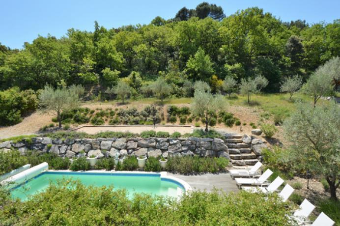 location saisonnière provence vaucluse mont ventoux luberon villa 10 personnes  région Mont Ventoux