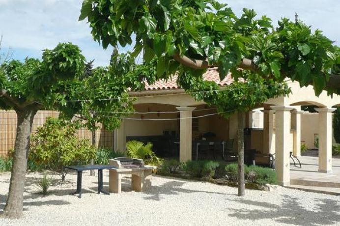 location saisonnière en Vaucluse, Provence, Aubignan, maison de vacances de luxe