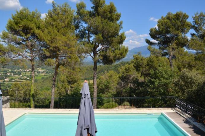 louer gîte 8 personnnes avec une piscine chauffée à Vaison-la-Romaine, Vaucluse, Mont Ventoux