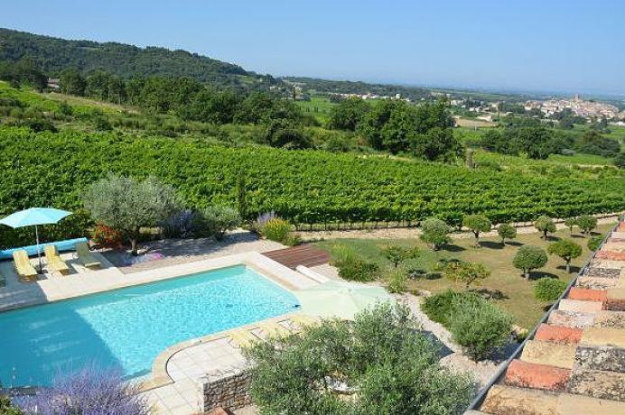 location gîtes dans les vignobles de Sablet Côtes du Rhône