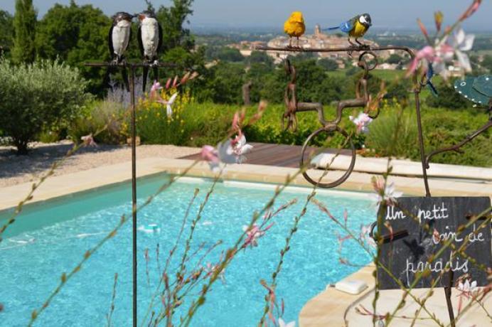 villa à louer à Sablet (Vaucluse)