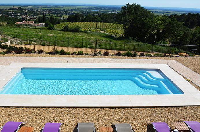 vakantiehuis huren met verwarmd zwembad in de Provence