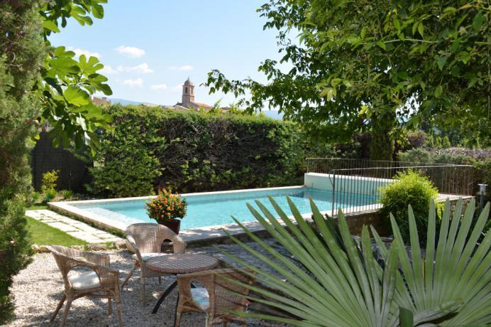 dorpswoning met zwembad te koop Provence