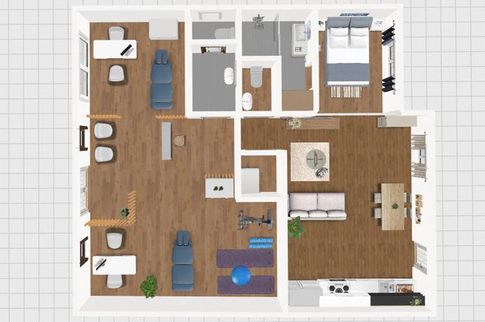ventoux immor provence, à vendre deux appartements à rénover au centre ville , Provence, Vaucluse
