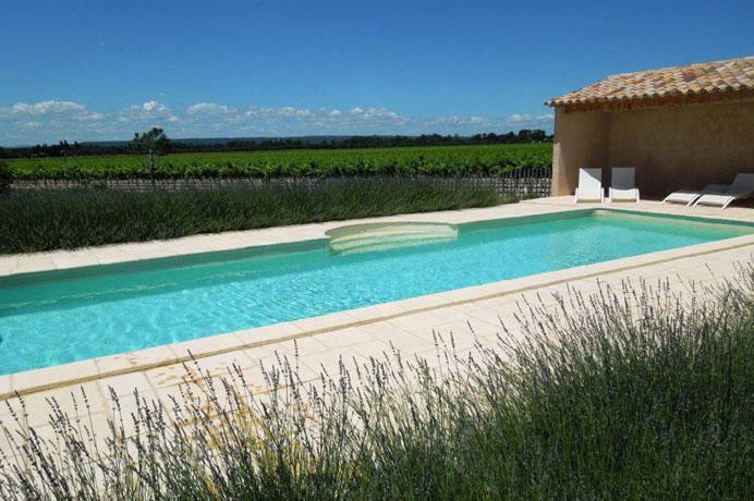 real estate for sale mas with vineyard and swimming pool
