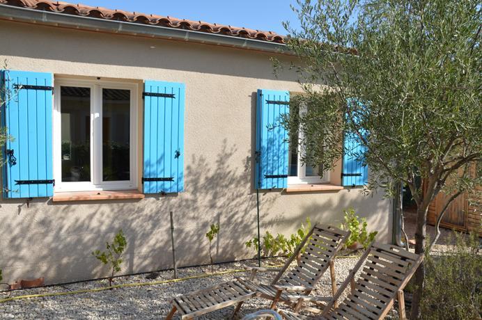 huis met tuin en zwembad kopen, bemeubeld aan de voet van de Ventoux