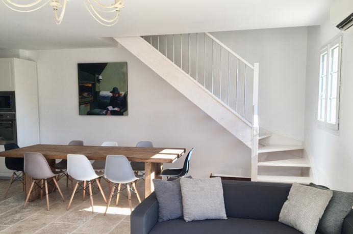 vastgoed kopen in Zuid-Frankrijk bij Belgische makelaar, 2 grote villa's in Uzès, Gard met groot verwarmd zwembad